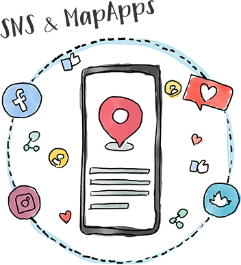 SNS&MapApps